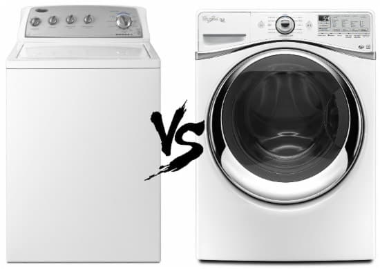 Front-Load vs. Top-Load Washing Machine
