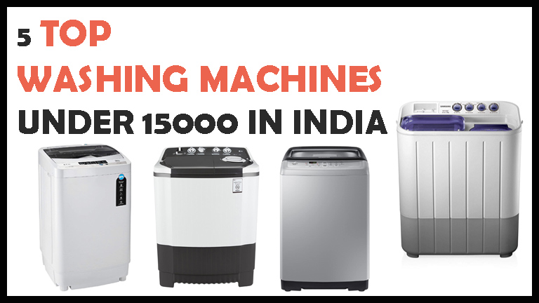 Top Washing Machines Under 15000