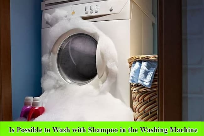 Is it Possible to Wash with Shampoo in the Washing Machine
