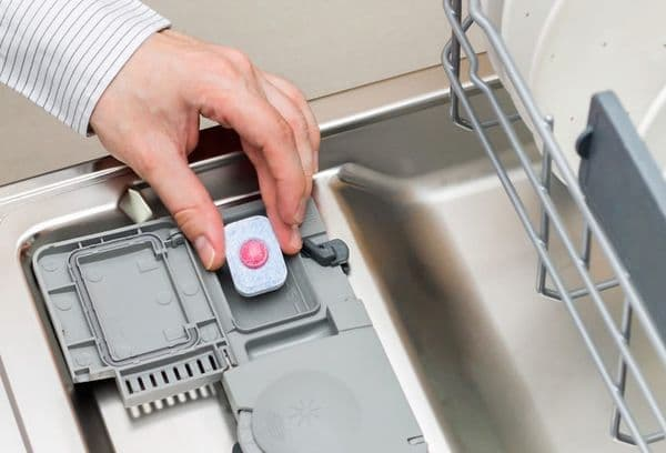 What items can be Washed with Dishwasher Tablets?