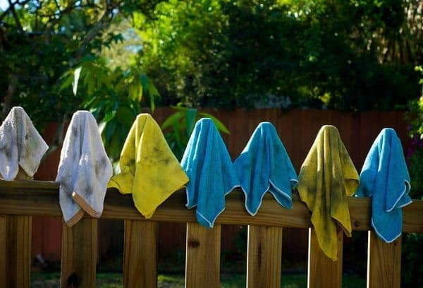 how to wash microfiber cloth for glasses